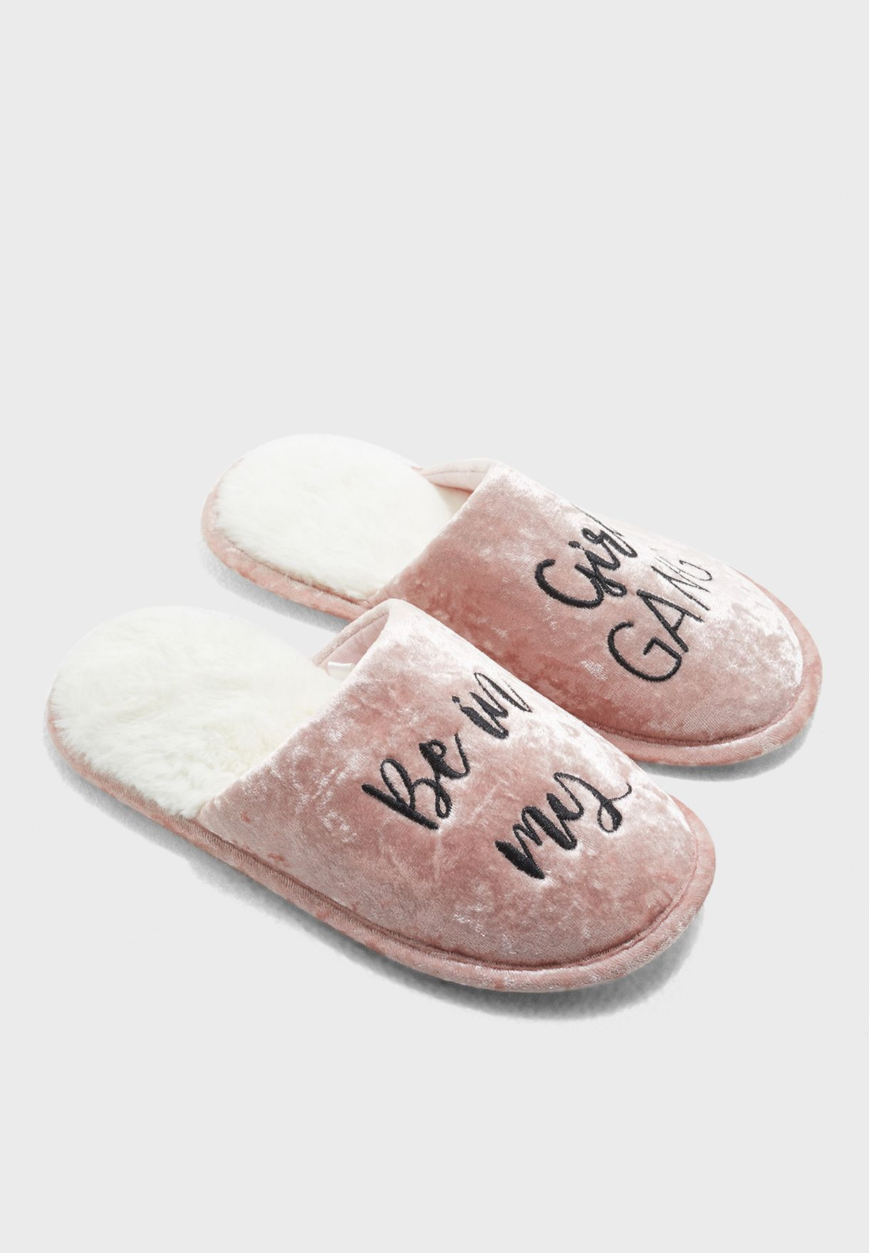 Girl Gang Bedroom Slipper