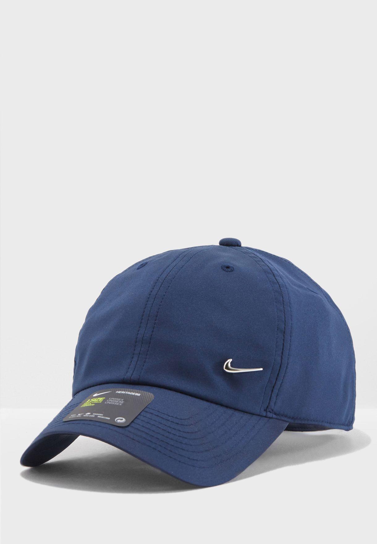 081d037d1f3 Shop Nike navy H86 Swoosh Cap 943092-451 for Men in Saudi - NI727AC40VCP