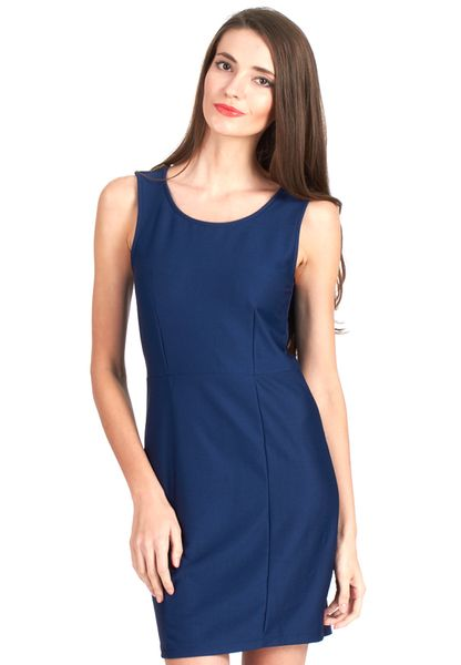 Vero moda navy blue dress