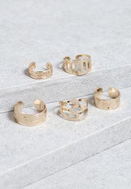 5 Pack Rings