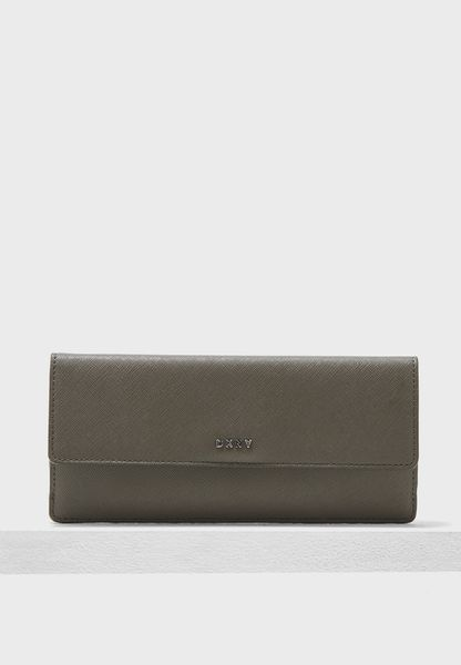 Slim Flap Purse