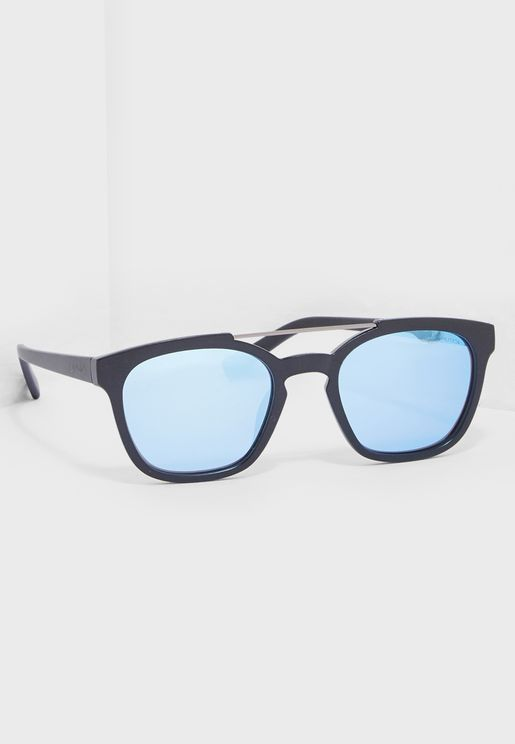 N3638SP Modified Rectangle Sunglasses