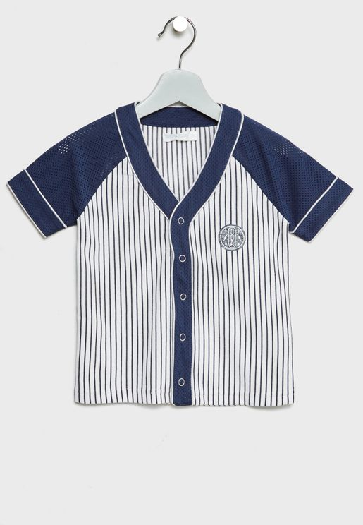 Little Carter Baseball Shirt