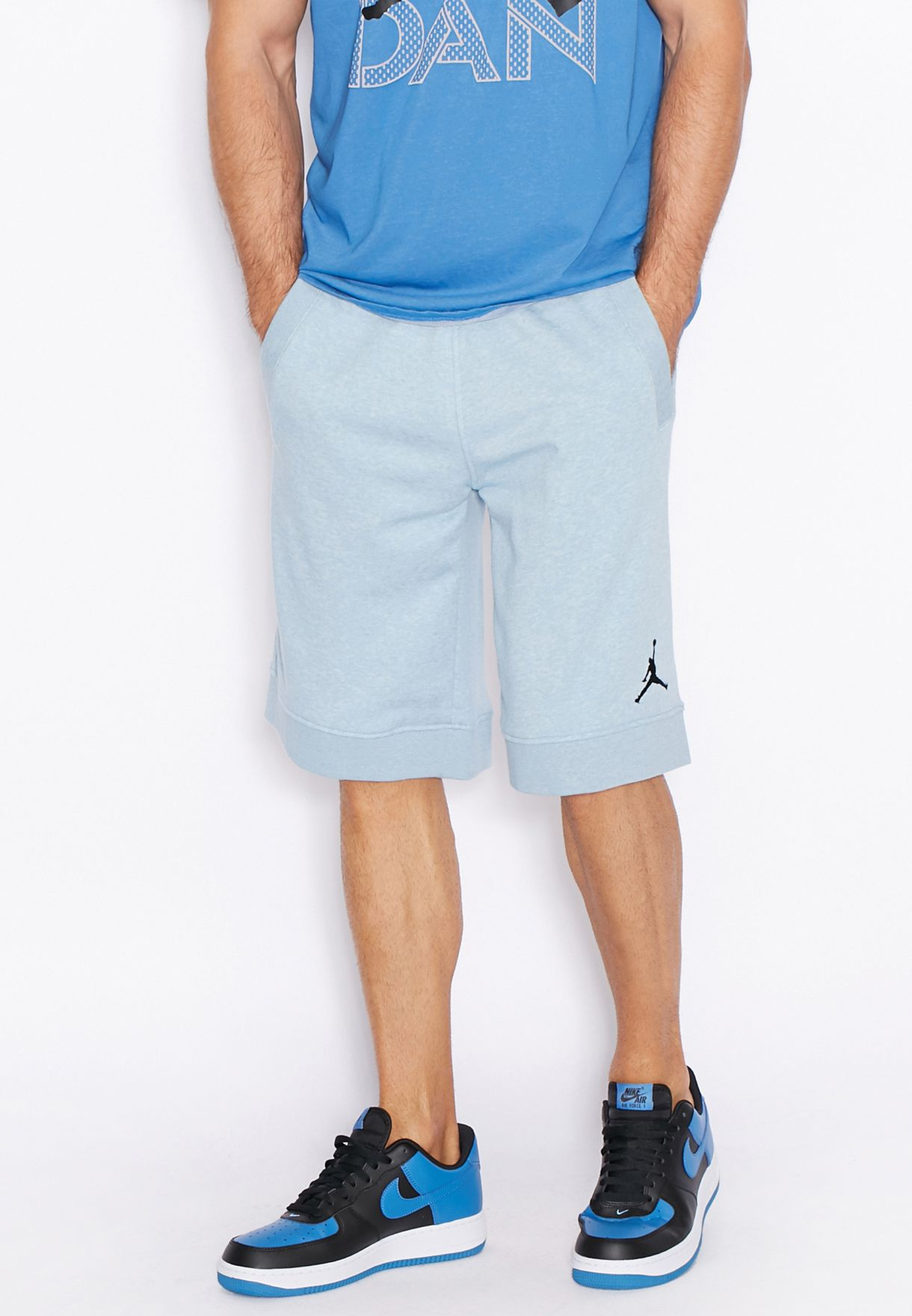 5dbeb49bda74 Shop Nike blue Jordan Shorts 642453-470 for Men in UAE - NI727AT40GYT