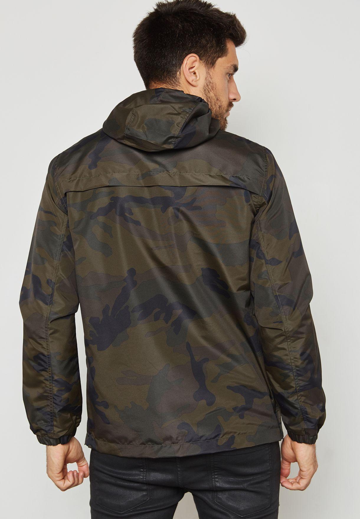 0a7fbd4f7e703 Shop Brave Soul prints Gorangrant Camo Print Jacket MJK-GORANGRANT ...