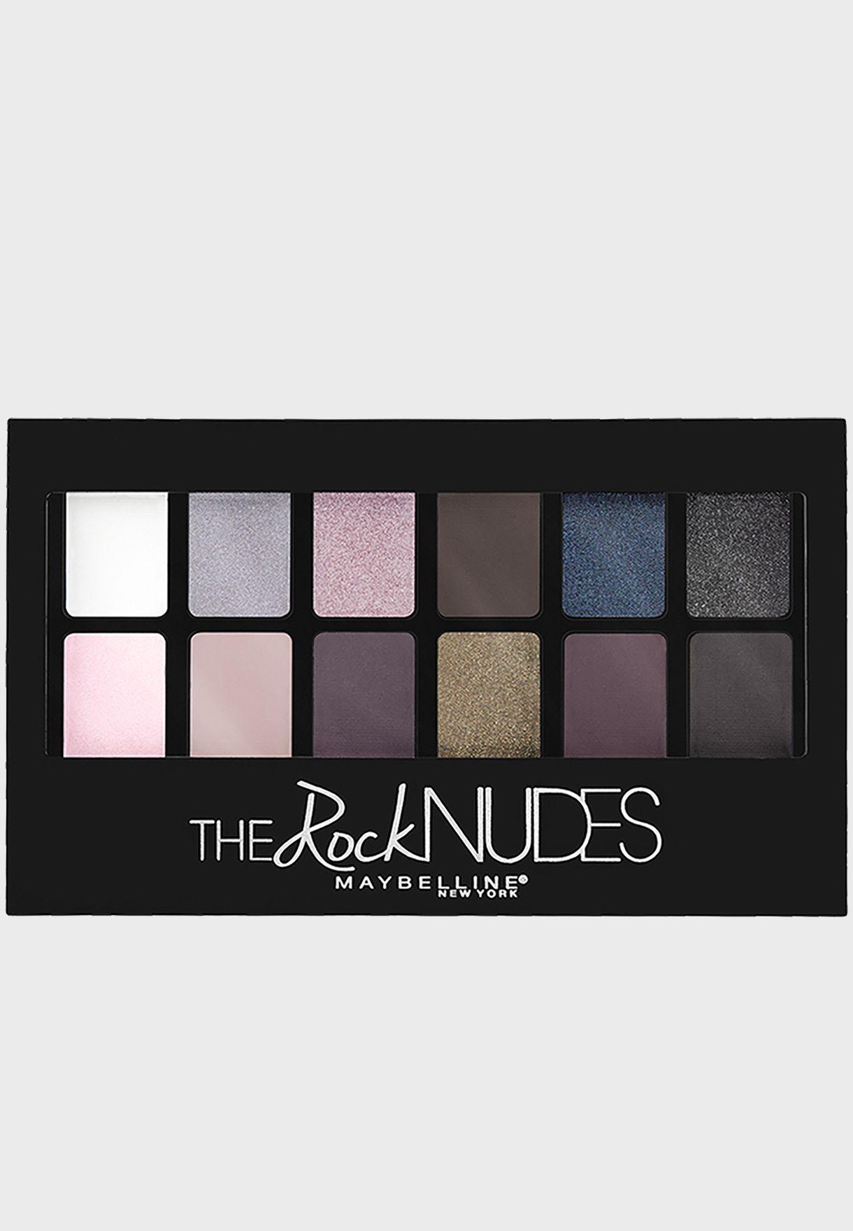 The Rock Nudes Eyeshadow Palette
