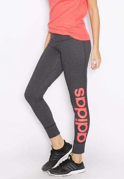 Compre Leggings adidas Grey adidas Linear Essential Linear Leggings AY4820 para Mujeres en 20cb7cb - rogvitaminer.website