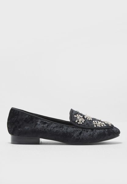 Linzi Embellished Loafers
