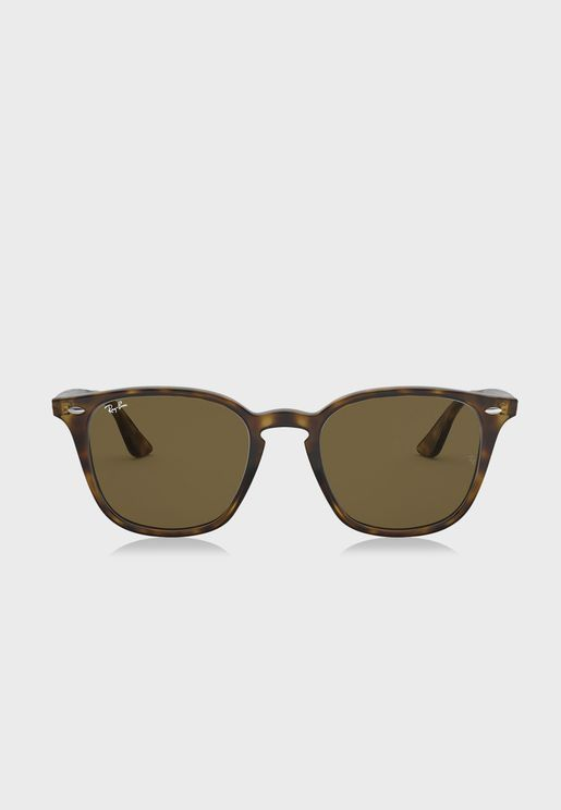 0RB4258 Shiny Havana Sunglasses