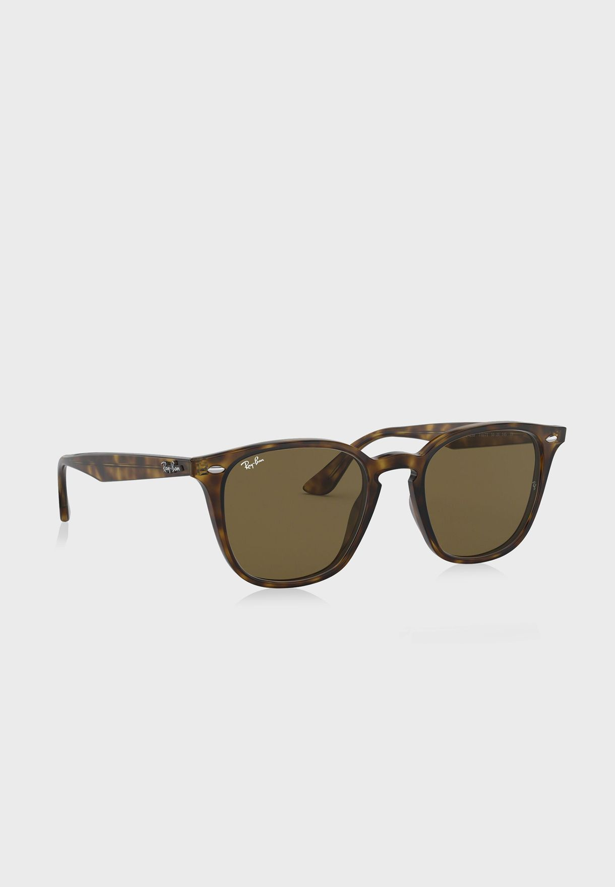 d7c2955ecf0 Shop Ray-Ban browns RB4258 Shiny Havana 8053672636505 for ...
