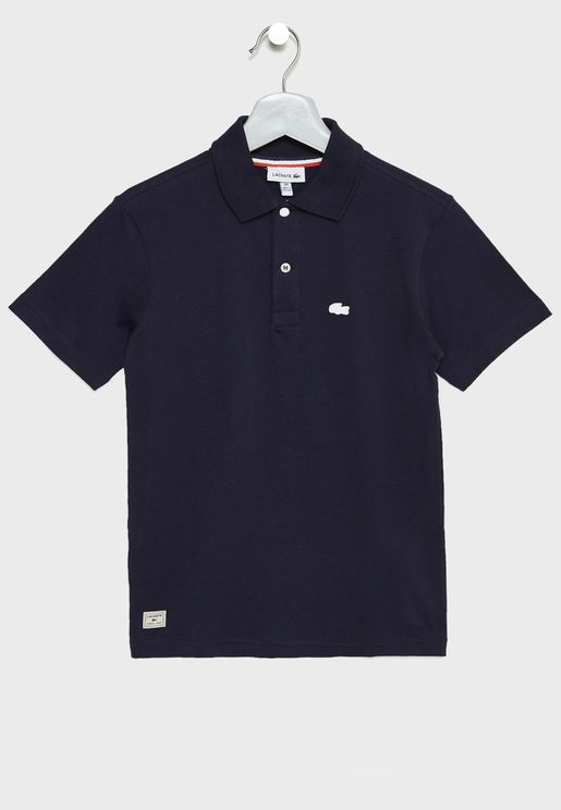 Kids Logo Polo Shirt