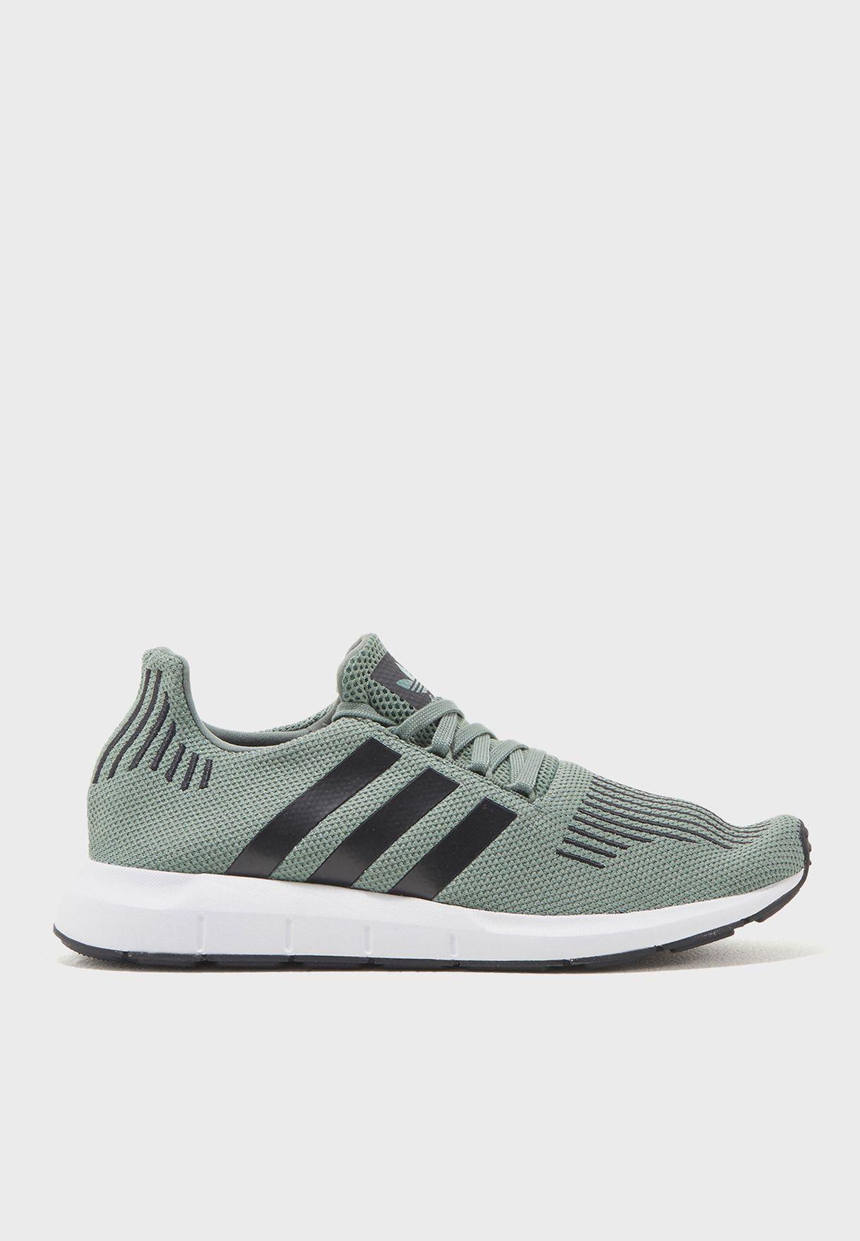 048537a8dd4d0 Shop adidas Originals green Swift Run CG4115 for Men in UAE ...