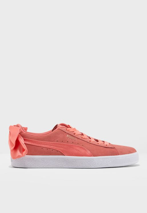 حذاء سويد بو