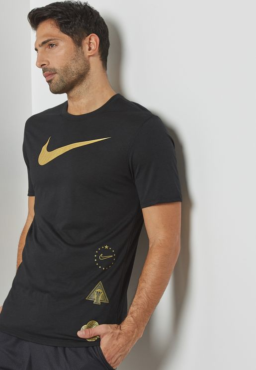 Dri-FIT  Golden Swoosh T-Shirt