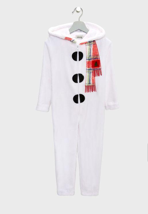 Little Snowman Onesie