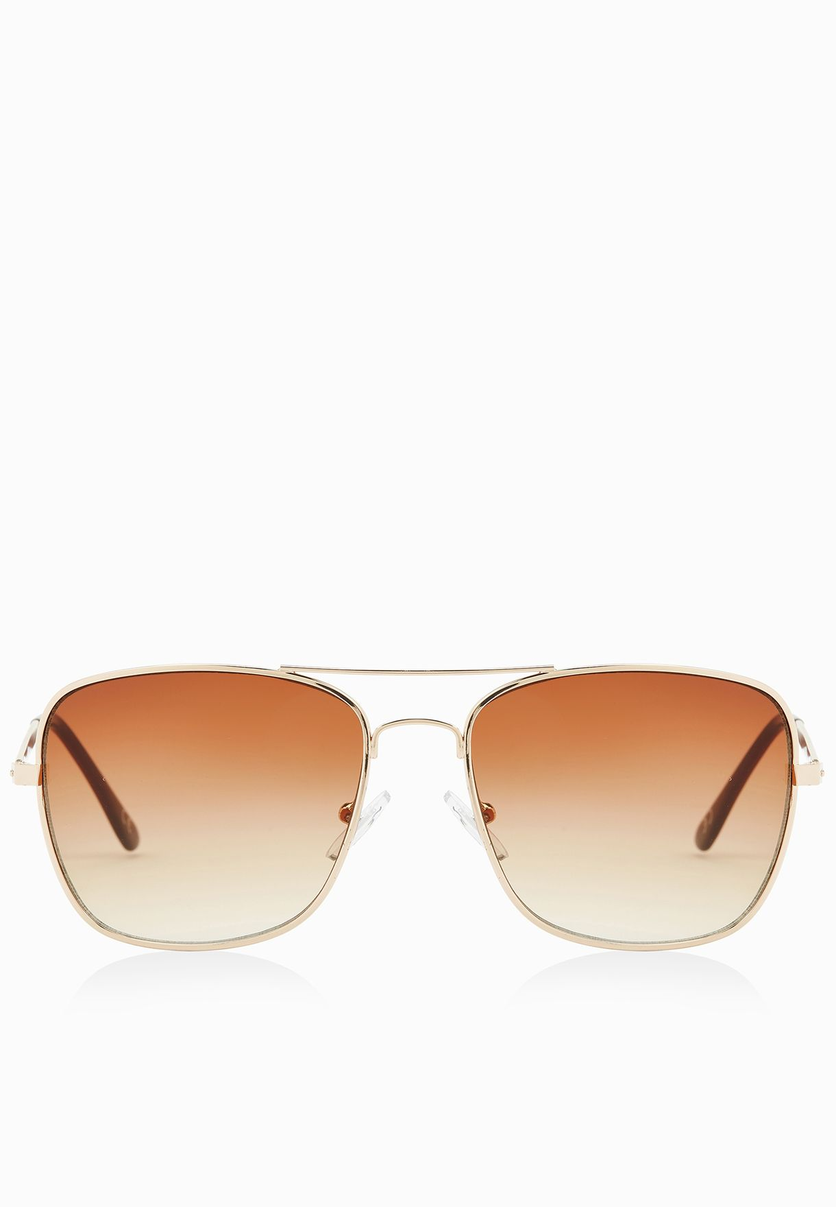 11843f493f Shop Jeepers Peepers gold Square Metal Aviators for Men in Qatar -  JE122AC40ASH