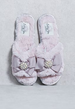 SWAROVSKI Studded Slipper