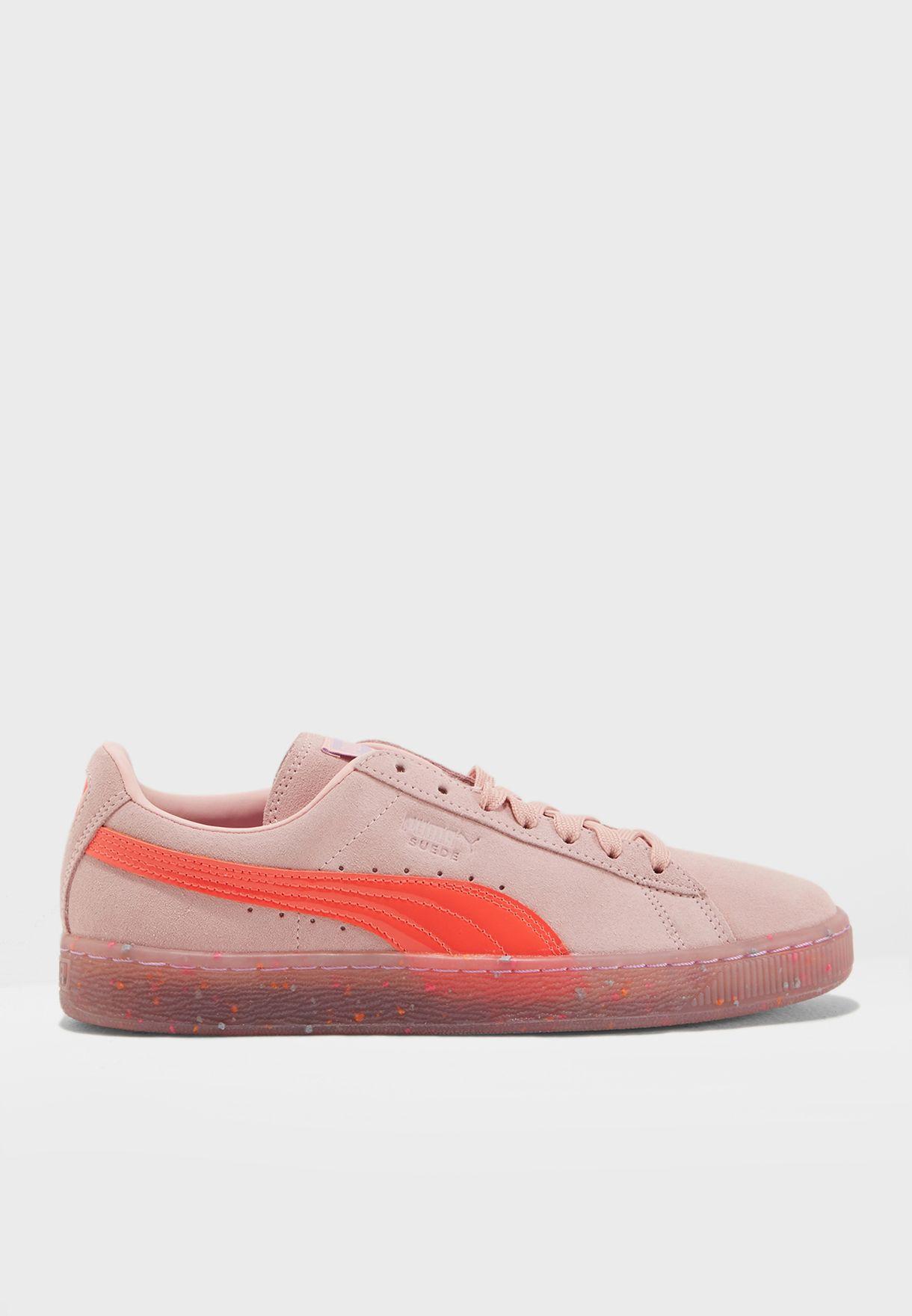 3b448b67f86 Shop PUMA pink Sophia Webster Suede 36473703 for Women in Saudi ...