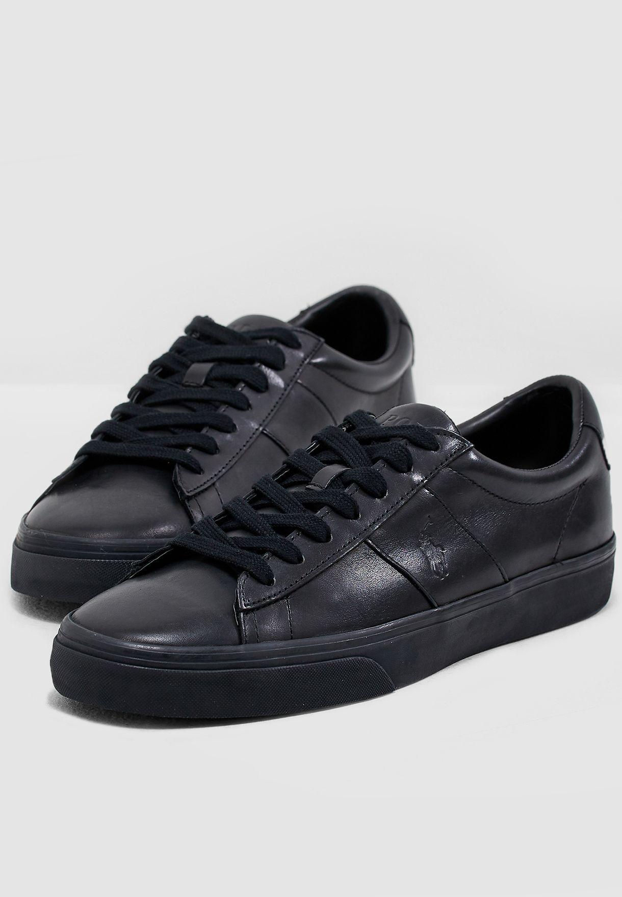 Polo Ralph Lauren black Sayer Sneakers