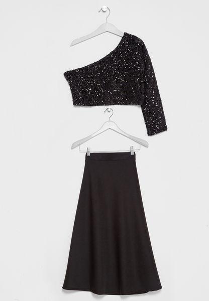 Tween Maxi Skirt Set