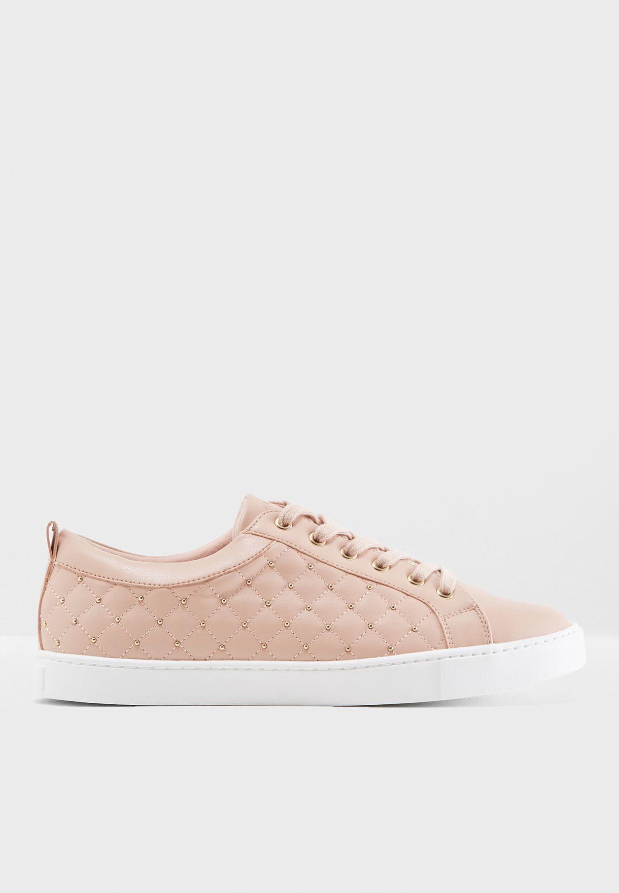ec3eb92c0481 Shop Aldo pink Lace Up Sneaker WICARDOWIA34 for Women in UAE ...