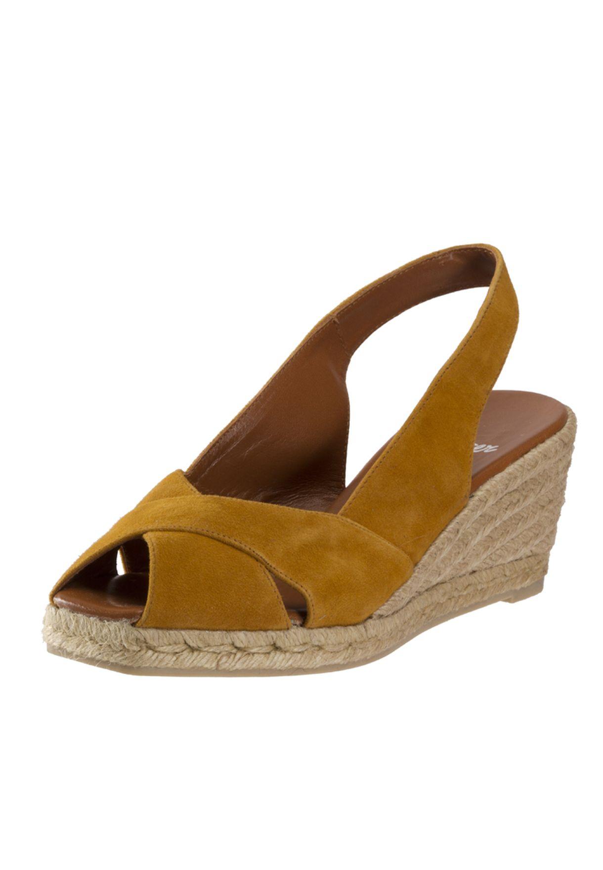 aa8404fa548 Doris Wedge Sandals