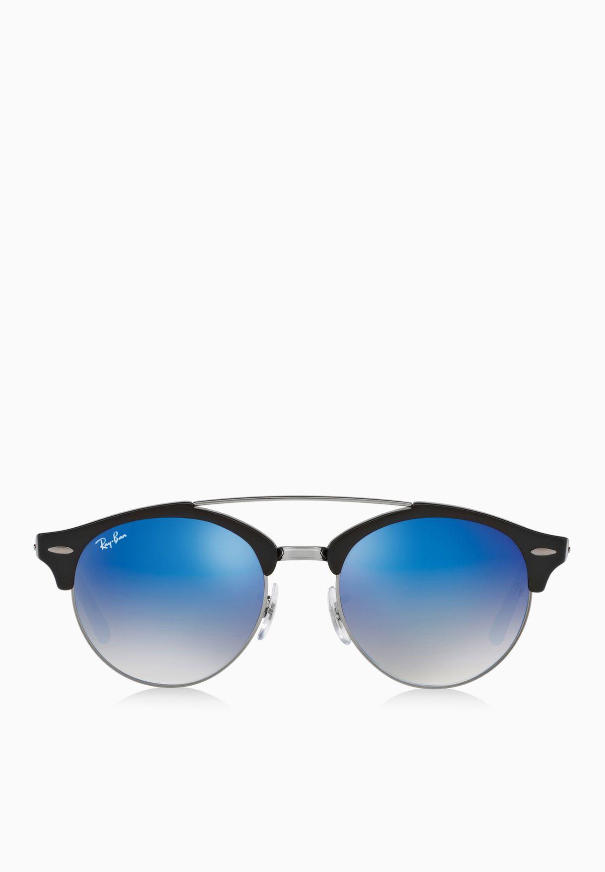 ff1459a9856 ... clearance shop ray ban black clubround double bridge sunglasses for  women in qatar ra736ac40snr 065fb 31846