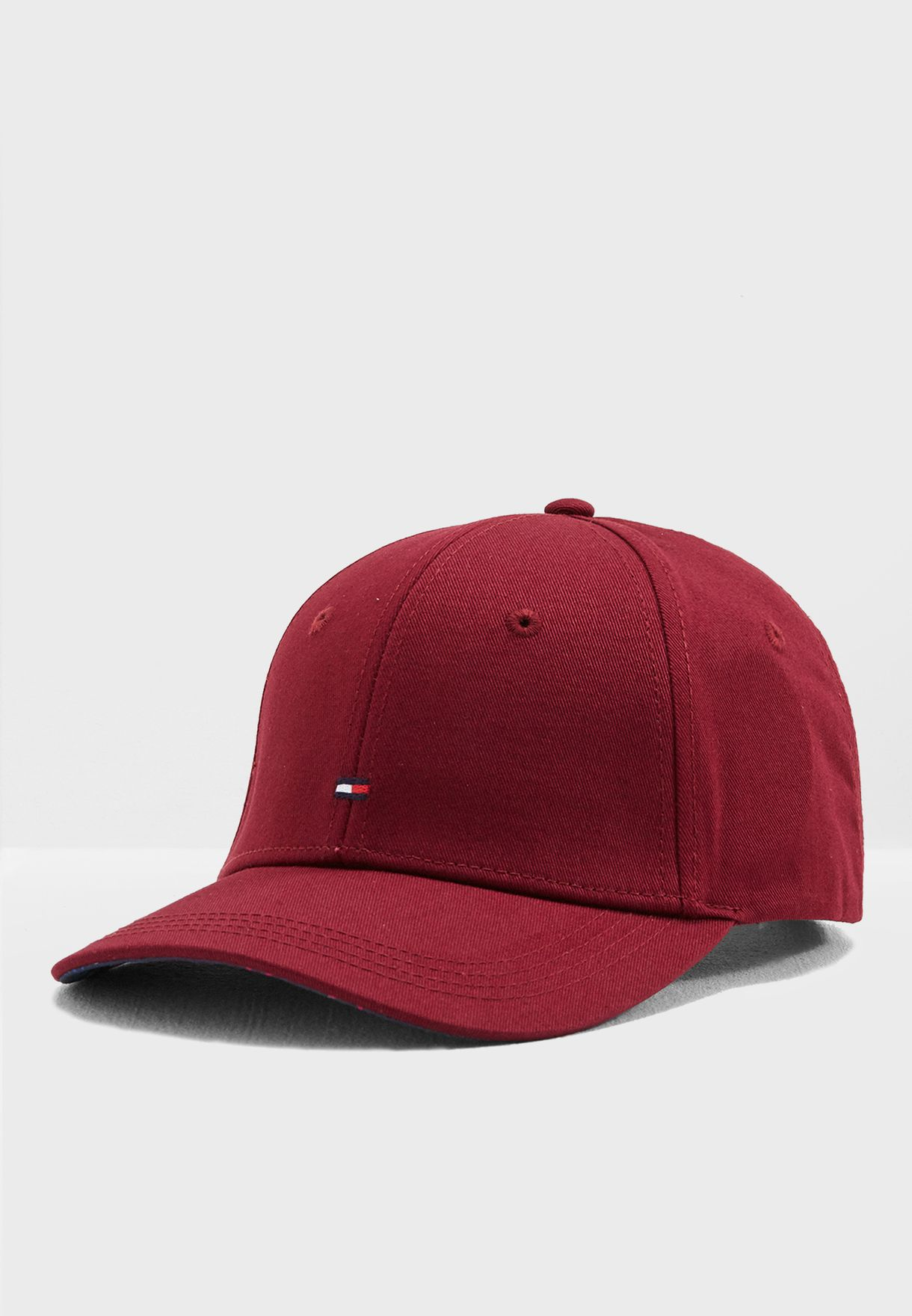 91f88d13 Shop Tommy Hilfiger burgundy Classic Cap AW0AW06020 for Women in UAE ...