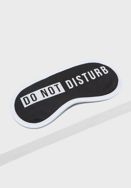 Do Not Disturb Eye Mask