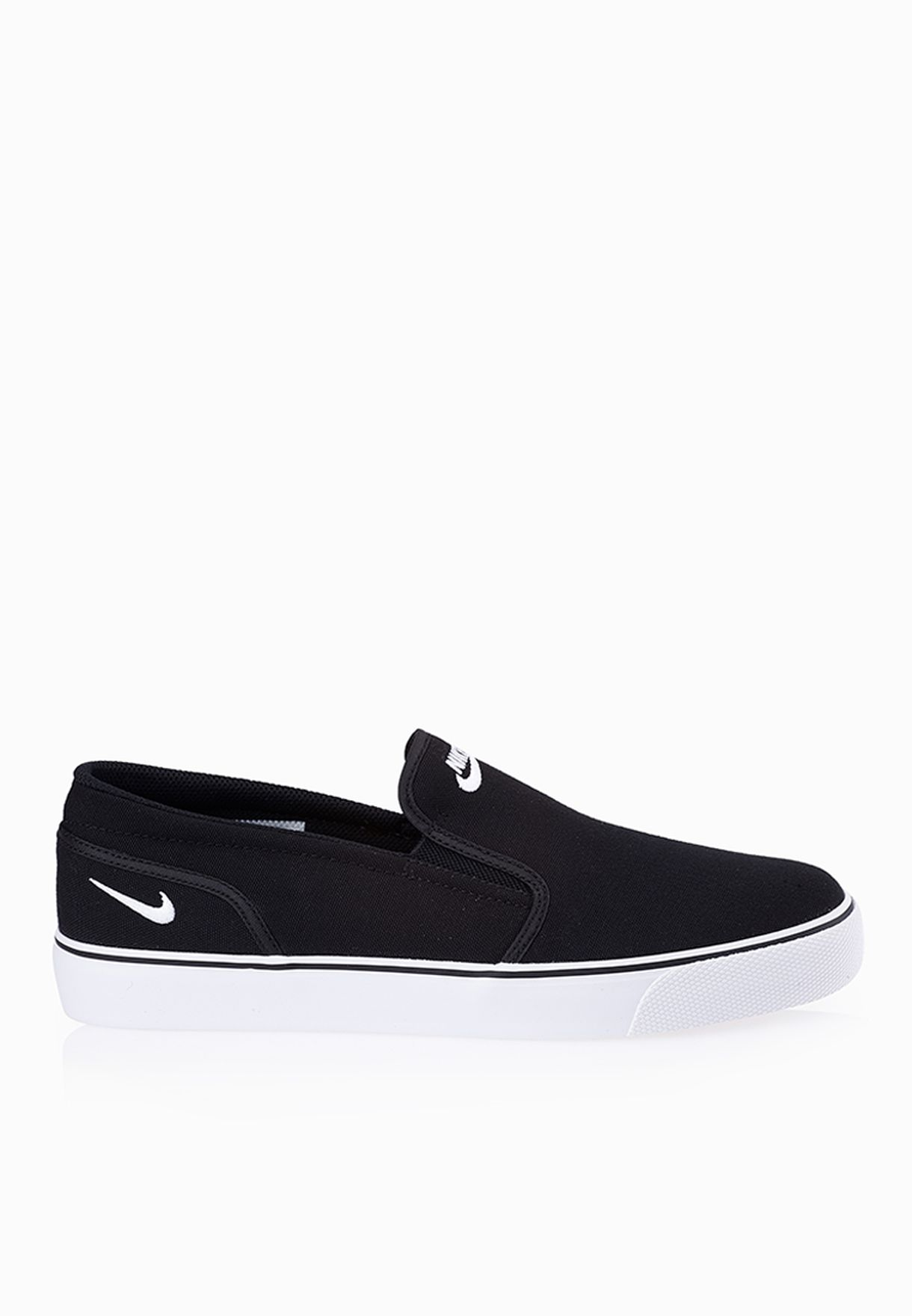2eb54d8a2ca Shop Nike black Toki Slip TXT 724762-011 for Men in UAE - NI727SH40VHZ