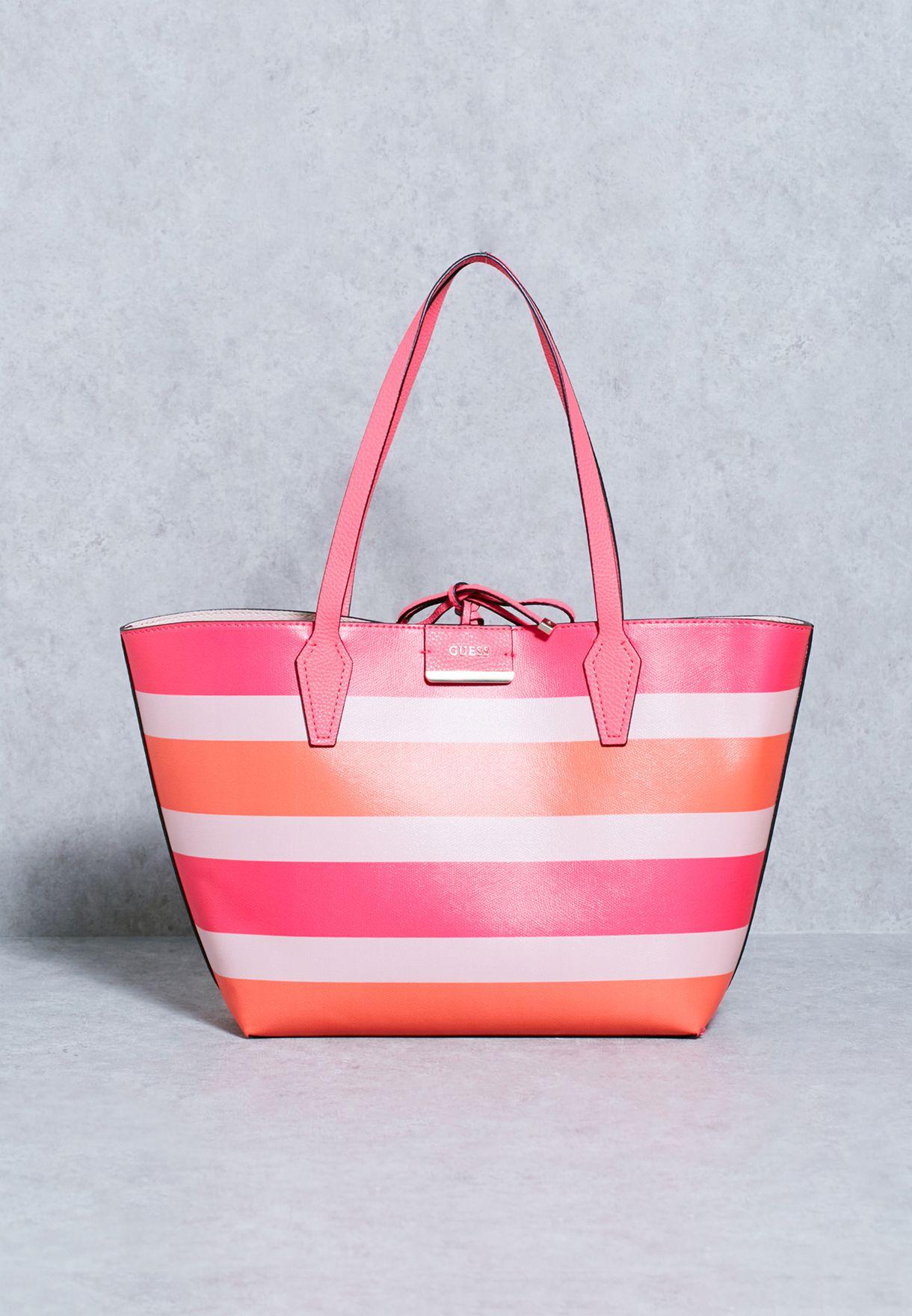 1d859bb3e6c3 Shop Guess multicolor Bobbie Reversible Tote KS642236 for Women in ...