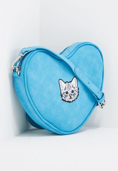 Soft Heart Kitty Crossbody