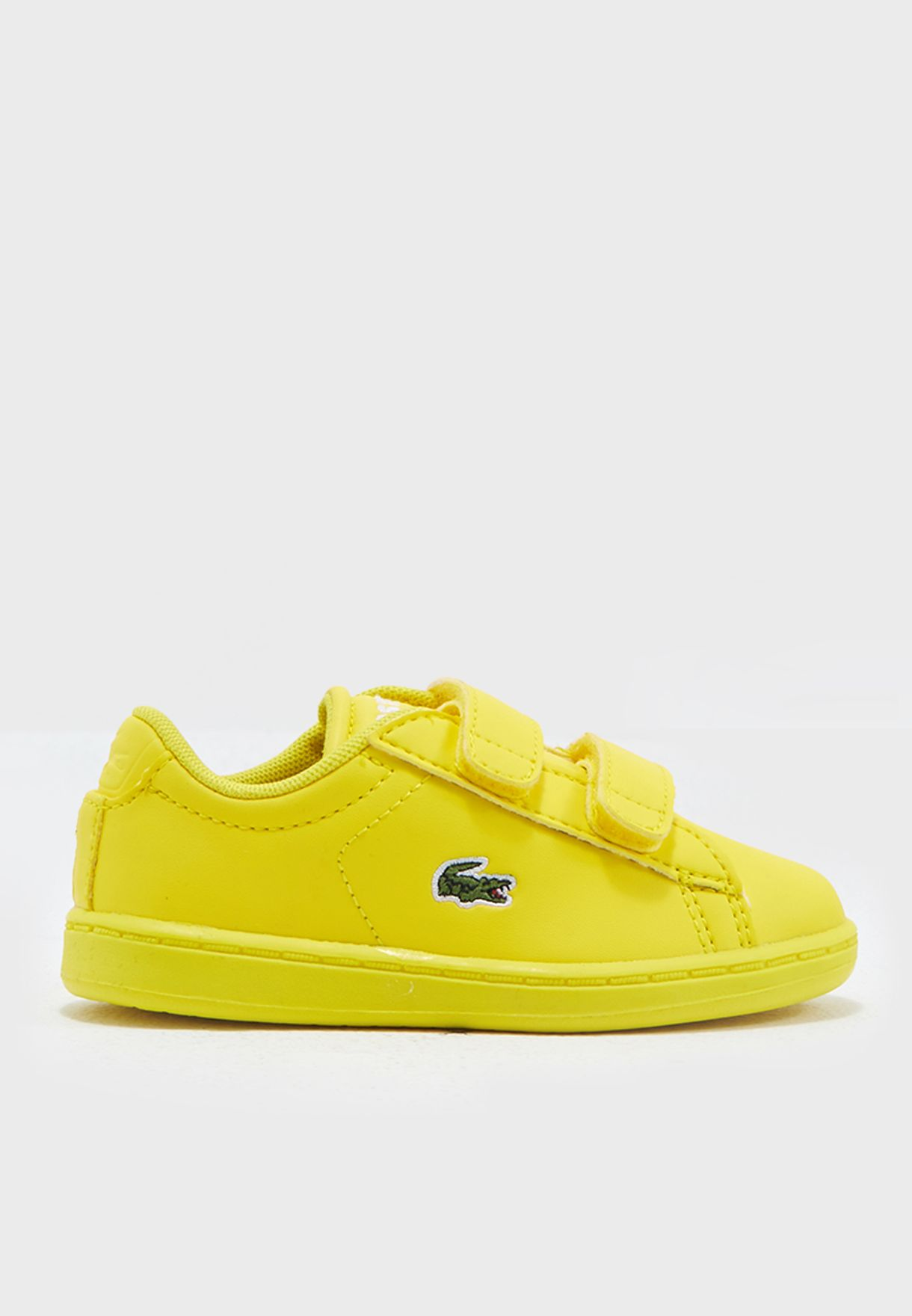 d6fa5511fd Shop Lacoste yellow Carnaby Evo 317 5 34SPI0005-068 for Kids in UAE ...