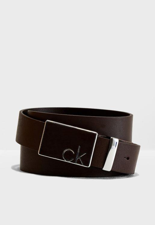 Adjustable Covered Plaque Belt