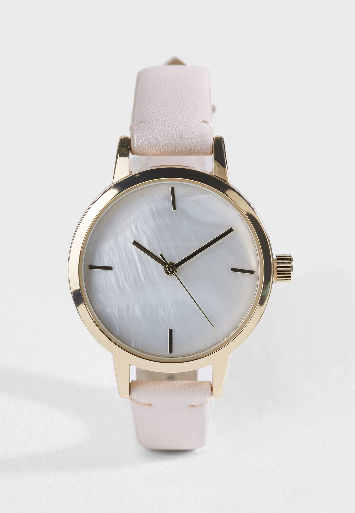 Pearl Dial Watch