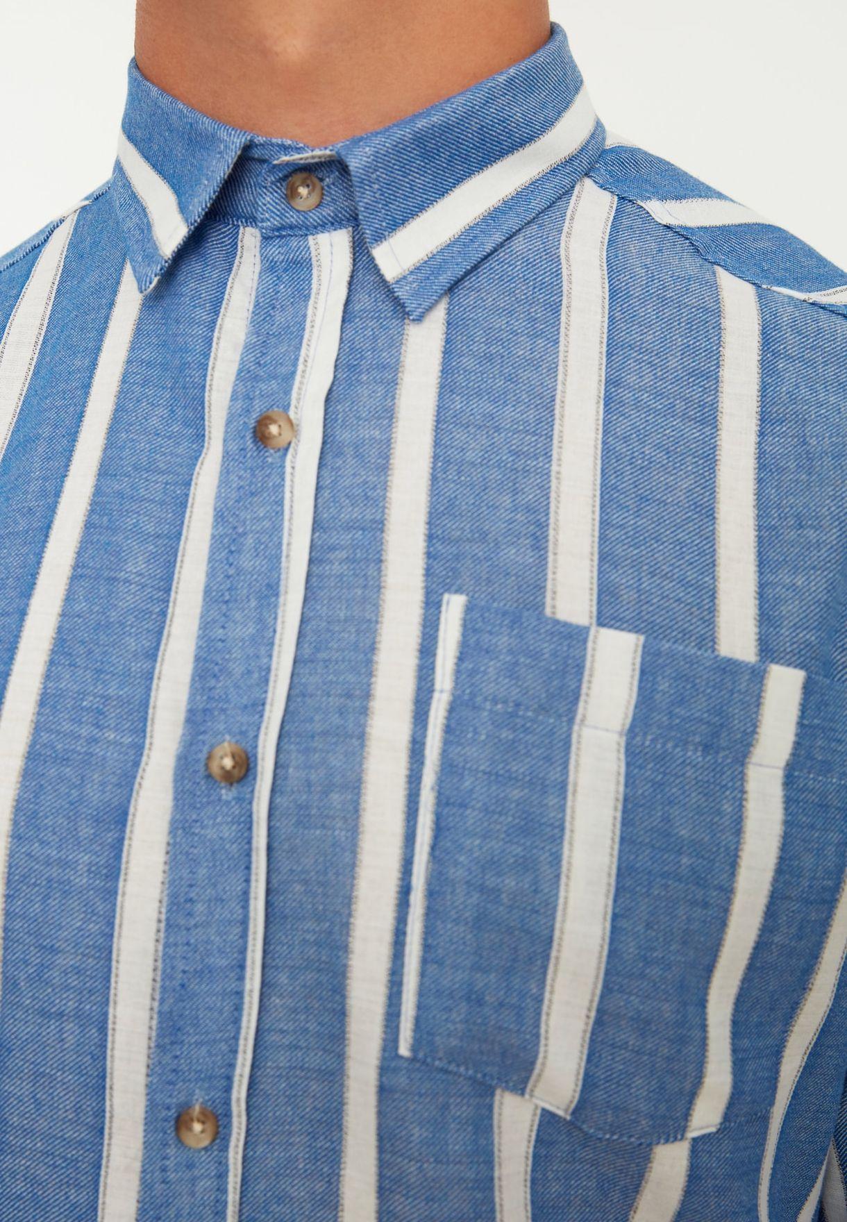 Striped Slim Fit Shirt