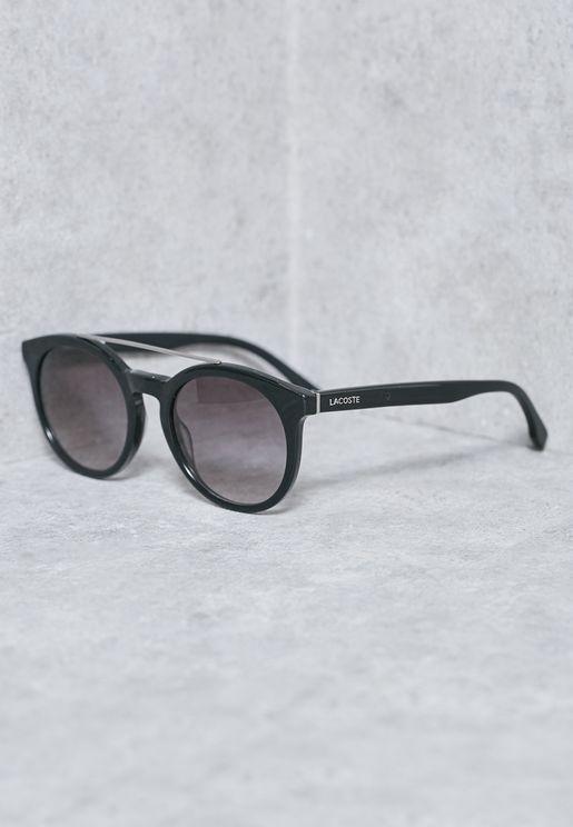 Metal Bridge Round Sunglasses