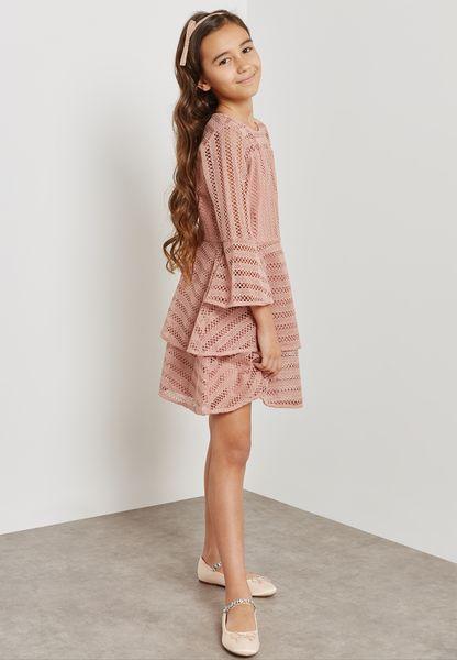 Tween Collins Frill Dress