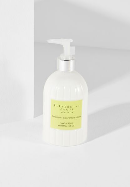 Coconut, Grapefruit & Lime Hand Cream Pump