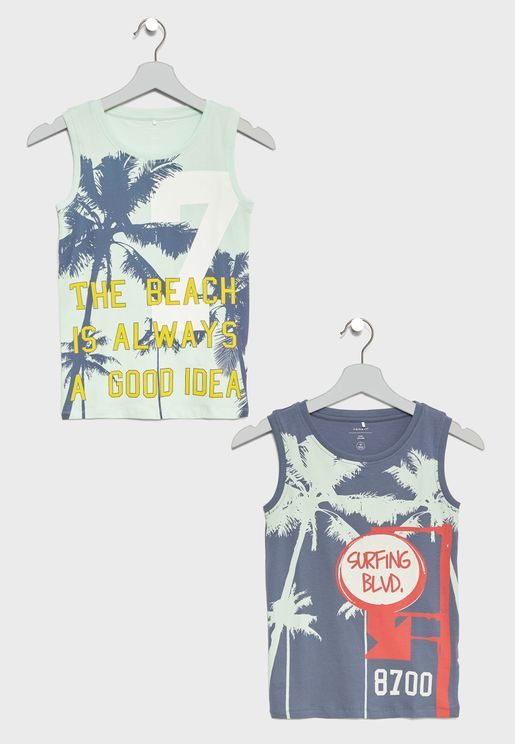 Teen 2 Pack Tank Tops