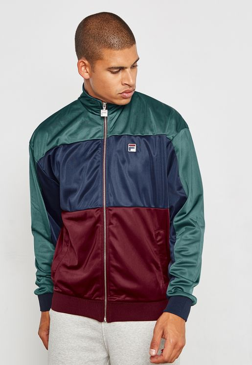 Sterling Colour Block Track Jacket