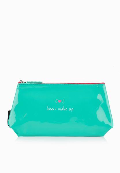 Kiss And Make Up Cosmetic Bag