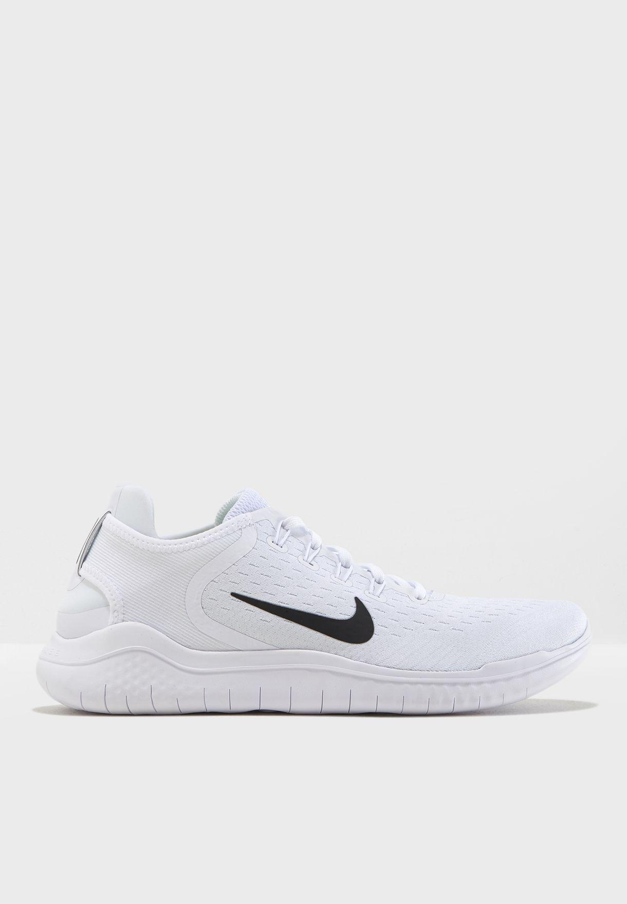 cc7d1f840971 Shop Nike white Free RN 2018 942836-100 for Men in Oman - NI727SH30JPX