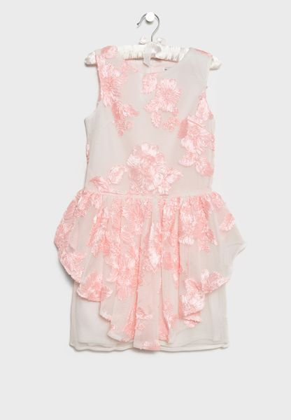 Teen Embroidered Dress