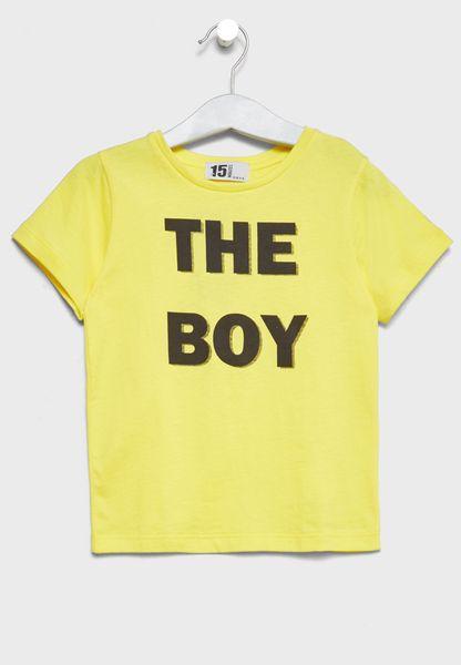 Little Slogan T-Shirt