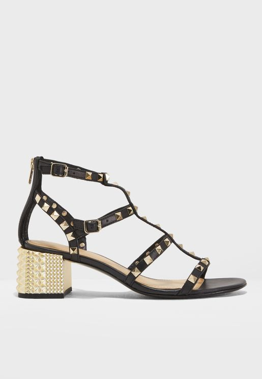Rolls Studded Sandals