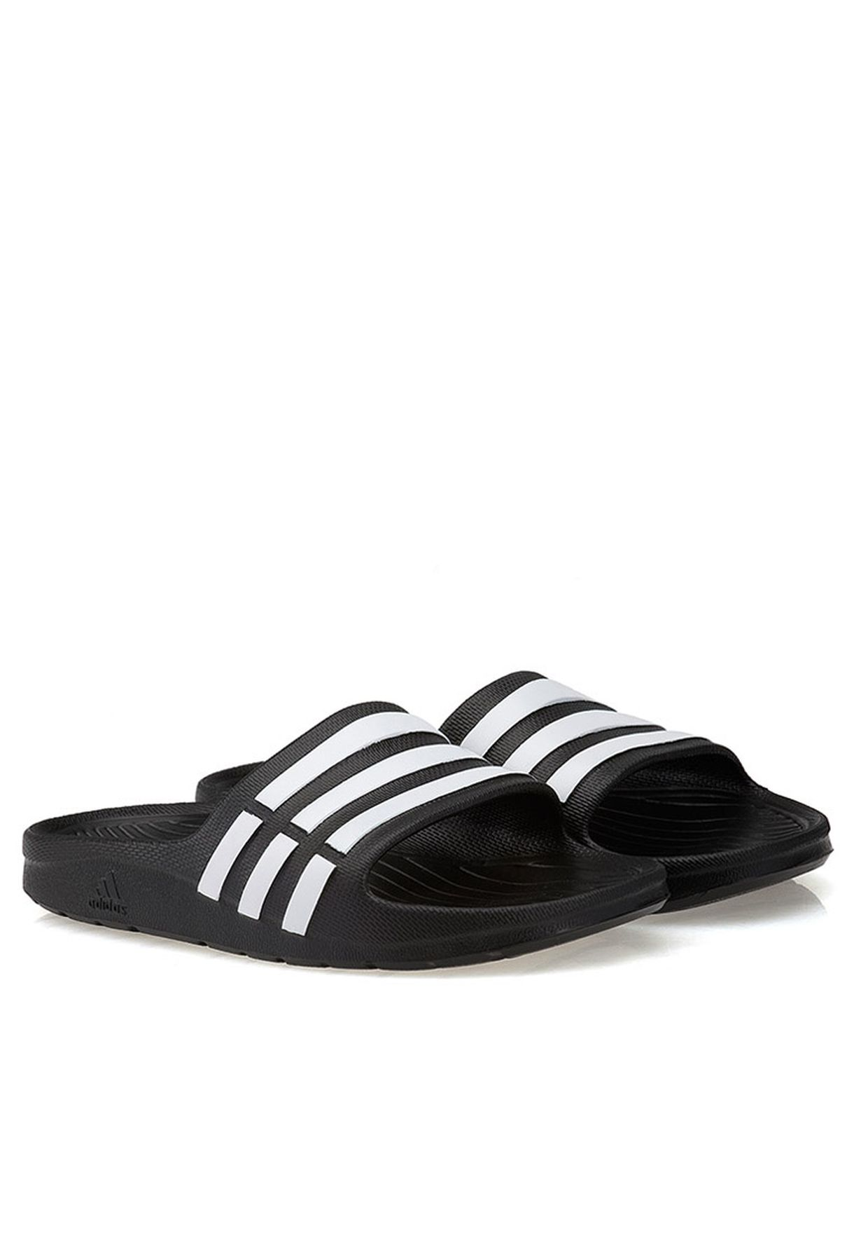 407051c825f726 Shop adidas black Duramo Slide K G06799 for Kids in UAE - AD476SH30CHH