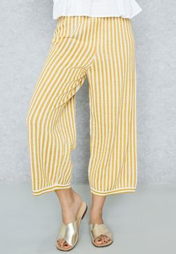 Striped Knitted Pants