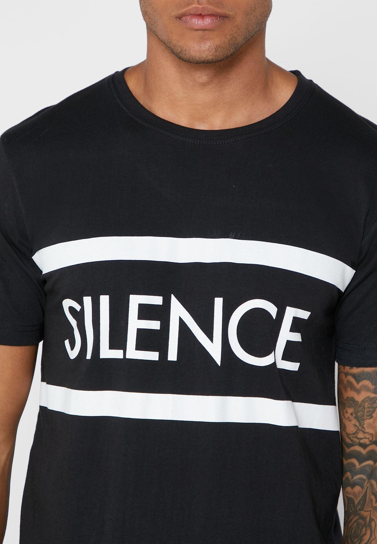 Silence Crew Neck T-Shirt