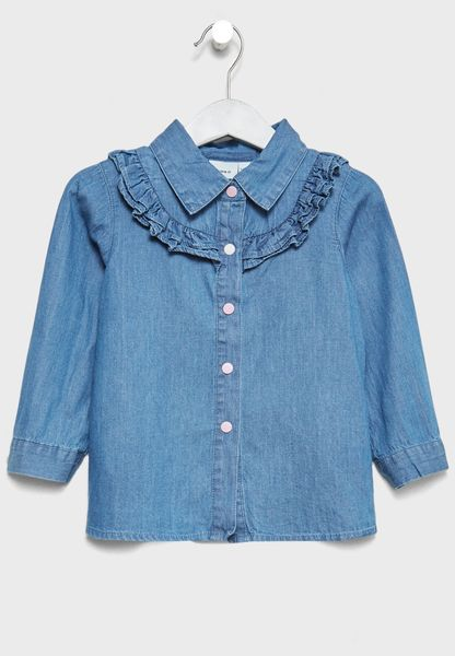 Infant Ruffle Detail Shirt